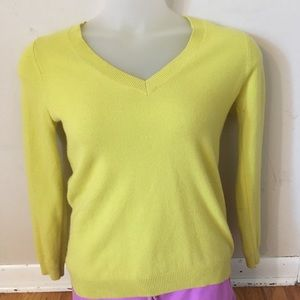 Boden 100% cashmere sweater size small